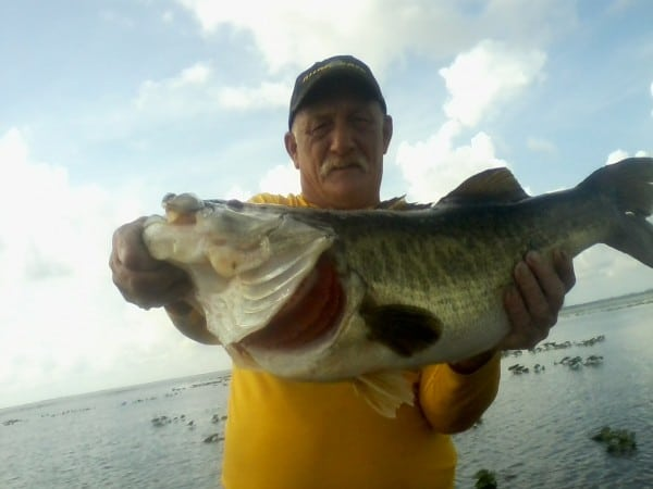 19.20 lb Bass Caught on Lake Kissimmee